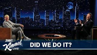 """Ellen DeGeneres & Jimmy Kimmel Play """"Did We Do It?"""""""