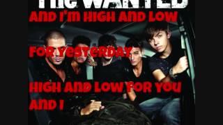 Hi and Low - The Wanted Lyrics