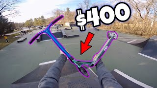 TESTING VERY EXPENSIVE $400 PRO SCOOTER