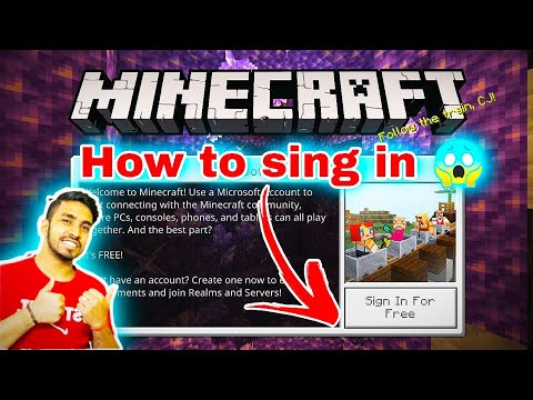How to sign in Minecraft  FREE 1.16.40   2020