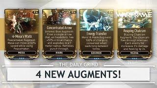 Warframe: NEW Augments for Ivara, Nezha, Equinox  Mesa - First Look Playtest