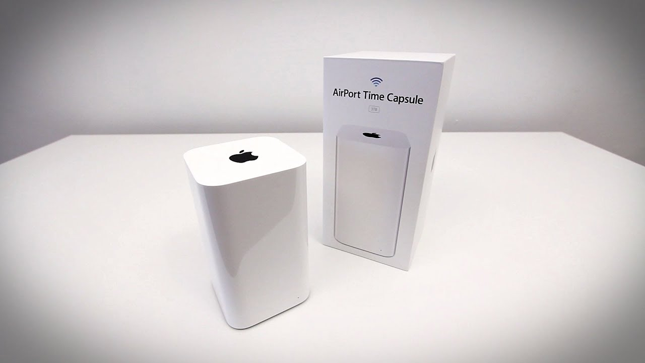 Apple Airport Time Capsule Unboxing & Overview (3TB Time Capsule 2013) thumbnail