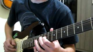 Arctic Monkeys - Temptation Greets You Like Your Naughty Friend (guitar cover)
