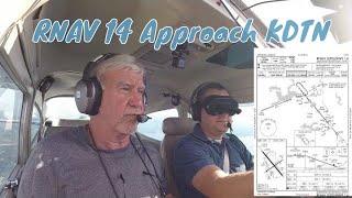 Cessna 182 Katmai | RNAV 14 Approach At KDTN With Don