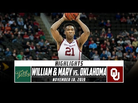 William & Mary vs. Oklahoma Basketball Highlights (2019-20) | Stadium