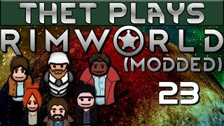 Thet Plays Rimworld 1 0 Part 23: Cold Snap [Modded