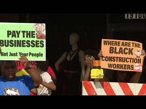 Avenue of Fashion project sparks protest in Detroit