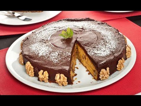 Bizcocho de zanahoria con chocolate o Chocolate carrot cake - Bruno Oteiza