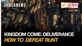 Kingdom Come: Deliverance - Defeating Runt