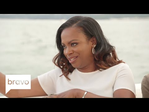 RHOA: Kandi Burruss Grills Cynthia Bailey's New Man (Season 10, Episode 7)   Bravo