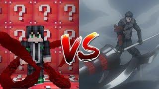 เปิดลัคกี้บล็อคกากNoob!! ปะทะกับ อาม่อนหน่วย CCG จาก Tokyo Ghoul (Minecraft Lucky Block)