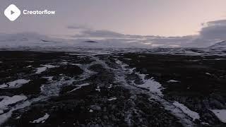 ???? Stock Footage Winter Landscape | DJI Phantom 4 4K Royalty free stock video footage