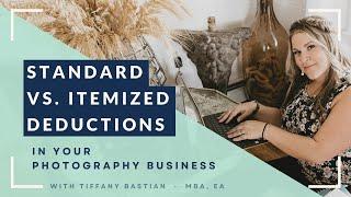 Taxes For Creative Entrepreneurs | Itemized Deduction Vs. Standard Deduction