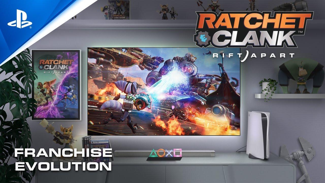 Celebrating the evolution of Ratchet & Clank on PlayStation