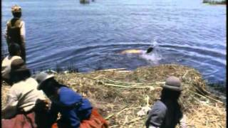 Смотреть онлайн Фильм Жака Ив Кусто: Тайна озера Титикака, 1969
