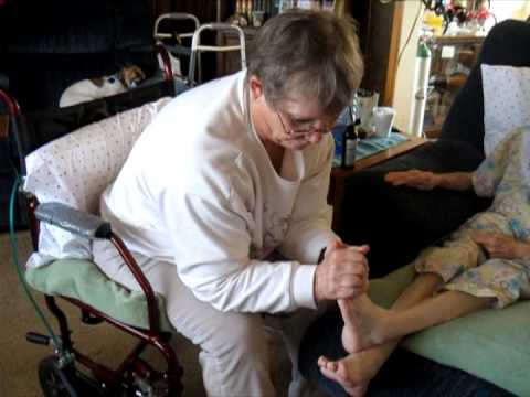 massage for elderly and disabled - YouTube