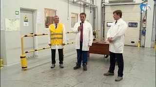 Андрей Никитин посетил новгородскую фабрику международного концерна «Амкор»