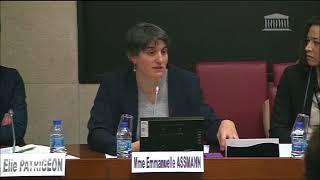 Audition d'Emmanuelle Assmann, Présidente du Comité Paralympique français