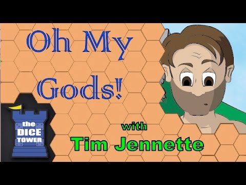 The Dice Tower:  Oh My Gods! Review - with Tim Jennette