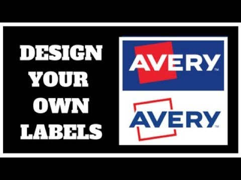 Design and Print Your Own Labels - DIY - Make Your Own Avery Labels/Stickers