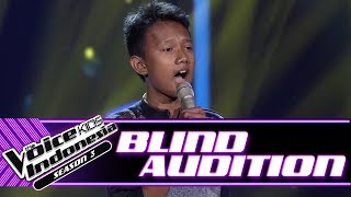 Syahdan - Here Without You | Blind Auditions | The Voice Kids Indonesia Season 3 GTV 2018