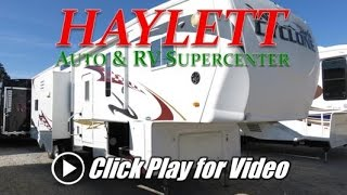 HaylettRV.com - 2009 Heartland Cyclone 3914 Used Toy Hauler Fifth Wheel RV