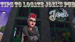 Tips to locate Joel's Pub | Fortnite Save The World Pve