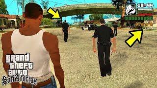 Что будет если у полиции закончатся патроны в GTA San Andreas? (вы не поверите)