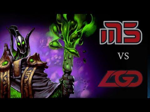[TI2] M5 Aegis Steal vs LGD