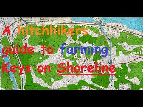 Complete Shoreline Key Guide - All 32 keys including maps