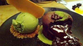 Spot Dessert Bar Love Fondue Green Tea Lava Cheese Cake