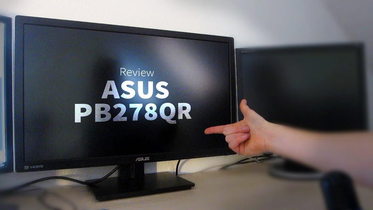 ASUS PB278QR: Bester 27-Zoll-Monitor? – Review, Erfahrungsbericht, Test