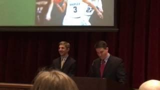 2017 Shipley Varsity Basketball Awards Presentation