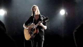 anna ternheim - 'my secret' (live) 2009 18 nov, uppsala