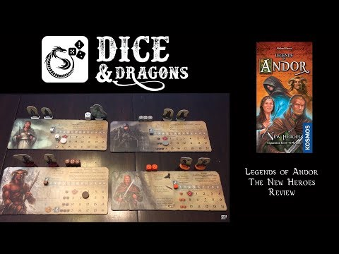 Dice and Dragons Presents Legends of Andor New Heroes(Road the the Last Hope part 3)