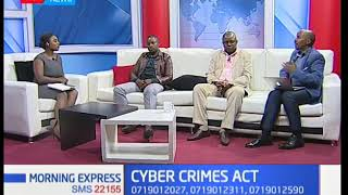 Is the Cyber Crimes Act meant to protect the state and officers