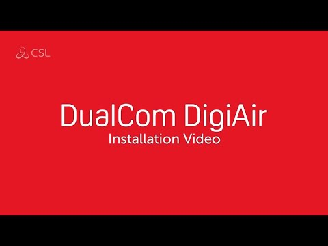 CSL DualCom DigiAir Installation Video