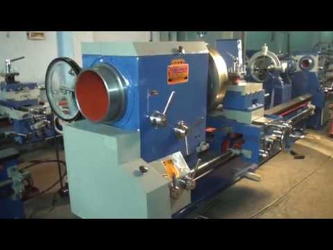 Heavy Duty Big Bore Lathe Machine