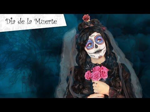 Trucco Halloween Dia de los Muertos