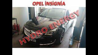 Opel İnsignia 170 ps hidrojen yakıt sistem montajı