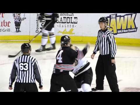 Dylan Clarke vs Pearce Eviston