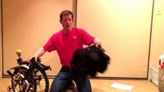 How to travel with a Brompton bicycle on an airplane