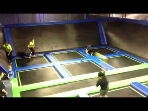 Dodgeball @ Off The Wall Trampoline Fun Center