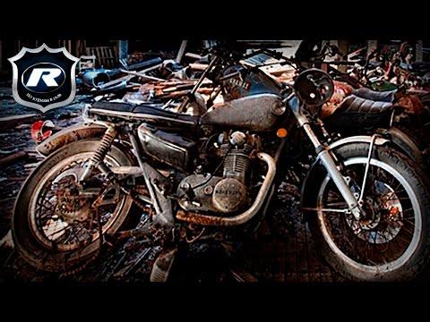 Кладбище мотоциклов в Нью Йорке