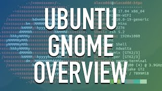 Ubuntu Gnome Overview - Customization and Software Installation
