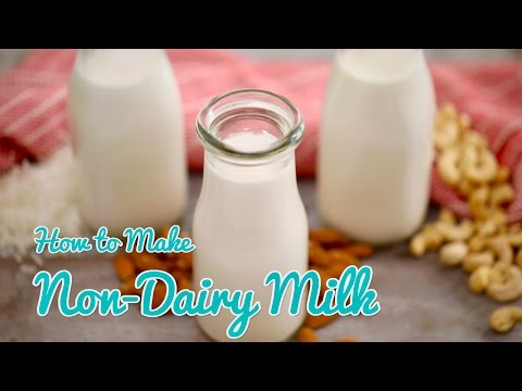 How to Make NON-DAIRY MILK (Almond Cashew & Coconut) Gemma's Bold Baking Bootcamp Ep 4
