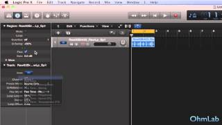 Using Groove Templates - Creating Tracks