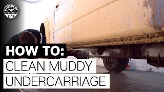 How To Clean Dirty Off-Road Truck Undercarriage: Raptor!