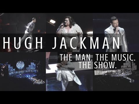 HUGH JACKMAN THE MAN. THE MUSIC. THE SHOW. TOUR LONDON VLOG | O2 Arena - 3rd June 2019