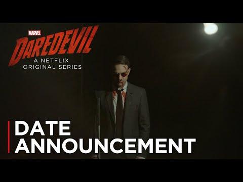 Daredevil Season 3 (Date Announcement)